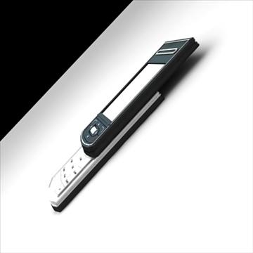 mobile phone benq siemens cl 71 3d model max 100497