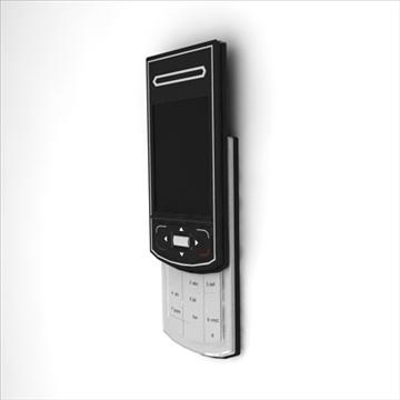 mobile phone benq siemens cl 71 3d model max 100498