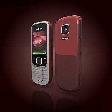 nokia 2330 mobile phone 3d model 3ds max 102638