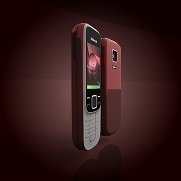 nokia 2330 mobile phone 3d model 3ds max 102639