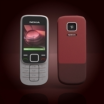 nokia 2330 mobile phone 3d model 3ds max 102640