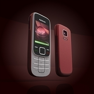nokia 2330 mobile phone 3d model 3ds max 102642