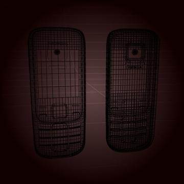 nokia 2330 mobil telefon 3d model 3ds max 102643