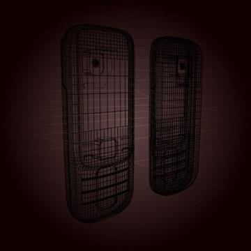nokia 2330 mobile phone 3d model 3ds max 102644