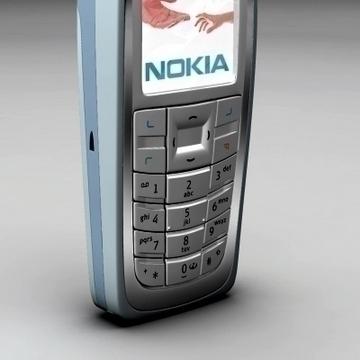 nokia 3120 3d model 3ds max obj 81683