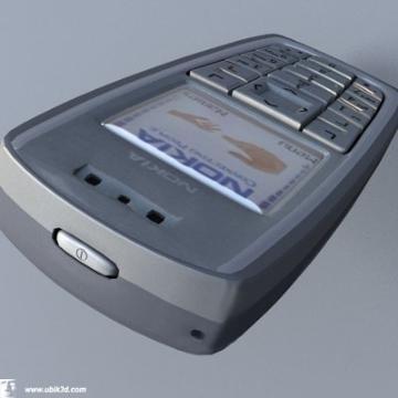 nokia 3120 highly detalied 3d model 3ds lwo 78168