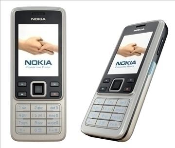 nokia 6300 3d model lwo 81203