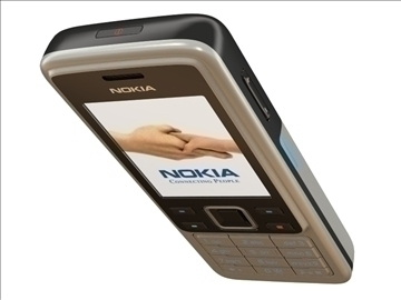 nokia 6300 3d model lwo 81205