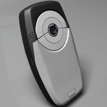 nokia 6600 3d model 3ds lwo 78153