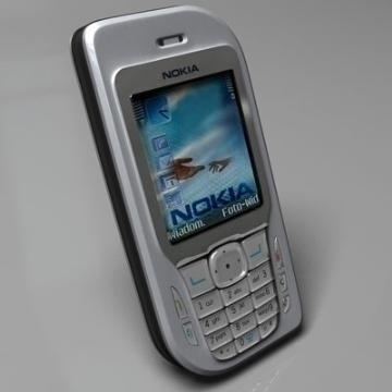 nokia 6670 3d model 3ds lwo 77921