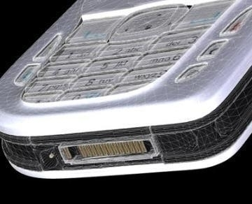 nokia 6670 3d model 3ds lwo 77924