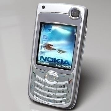 nokia 6680 3d model 3ds lwo 77916
