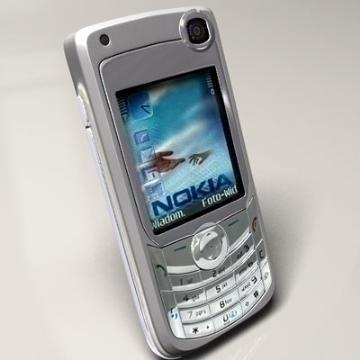 nokia 6680 3d model 3ds lwo 77917