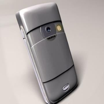nokia 6680 3d model 3ds lwo 77918