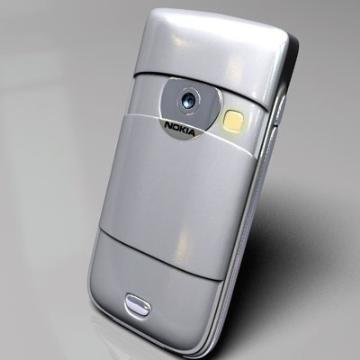 nokia 6680 3d model 3ds lwo 77919