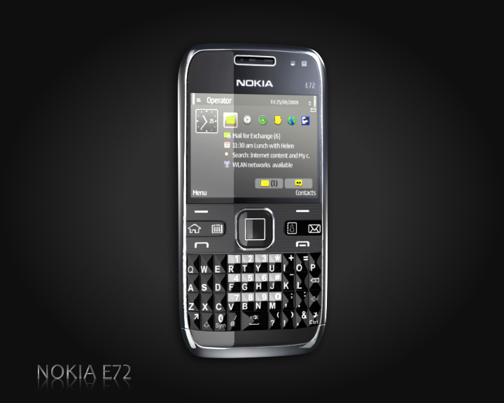 nokia e72 3d model 3ds max obj 115503
