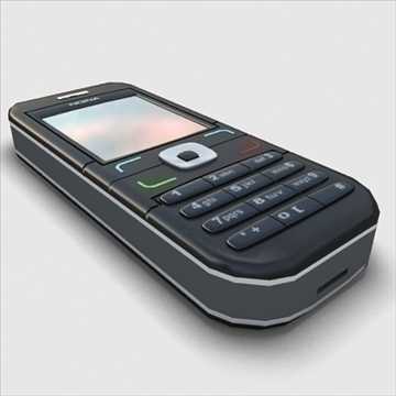 nokia mobile phone 3d model 3ds max obj 100849