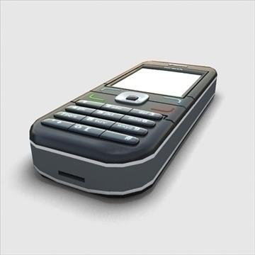 nokia mobile phone 3d model 3ds max obj 100851