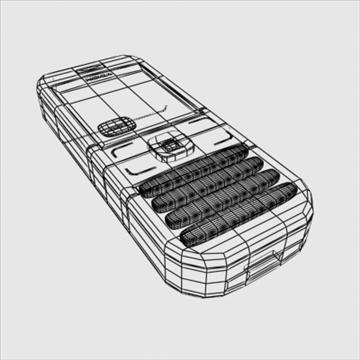 nokia mobile phone 3d model 3ds max obj 100853
