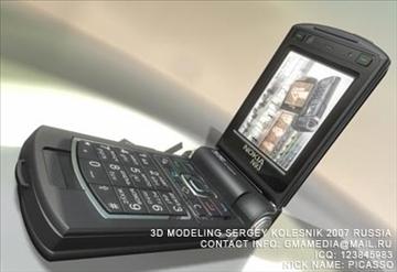 nokia n93 3d model max 80749