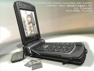 nokia n93 3d model max 80750