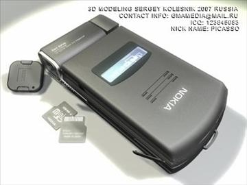 nokia n93 3d model max 80752