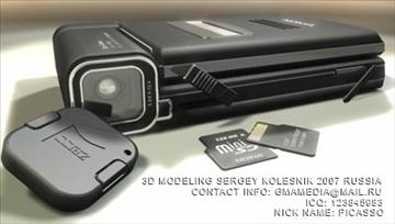 nokia n93 3d model max 80753
