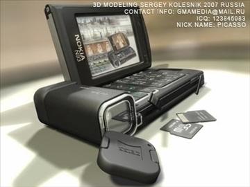 nokia n93 3d model max 80754
