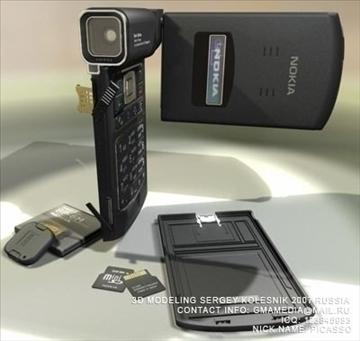 nokia n93 3d model max 80757