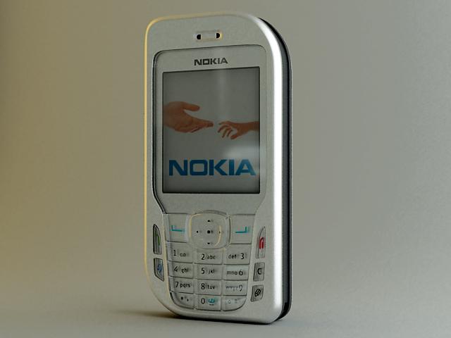 nokia phone 6670 3d model max 124801