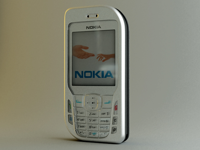 Нокиа телефон 6670 3d модел макс 124801