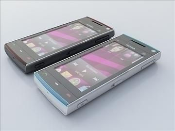 nokia x6 3d model 3ds max 111780