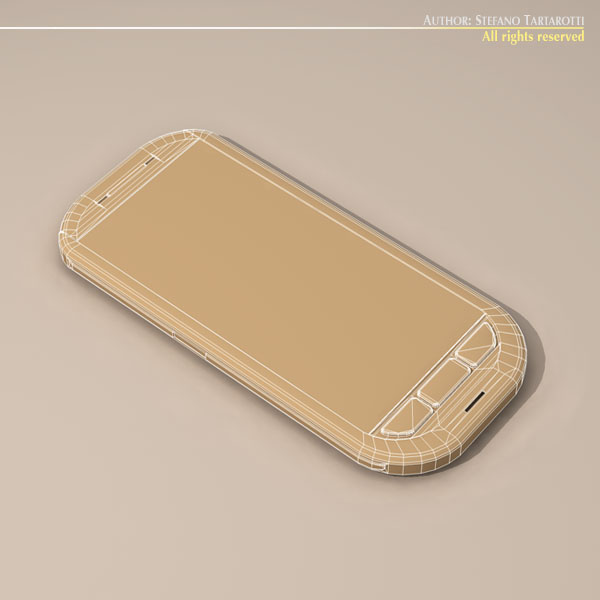 Smartphone 3d model 3ds dxf c4d obj 112634