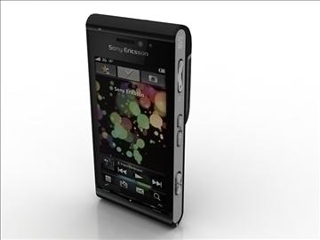 sony ericsson idou 3d model max 105891