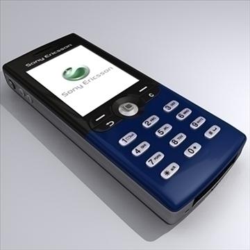 Sony Ericsson T610 3d model max 91166