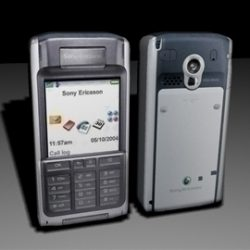 Sony Ericsson Cell Phone LOW POLY ( 46.05KB jpg by RP3D )