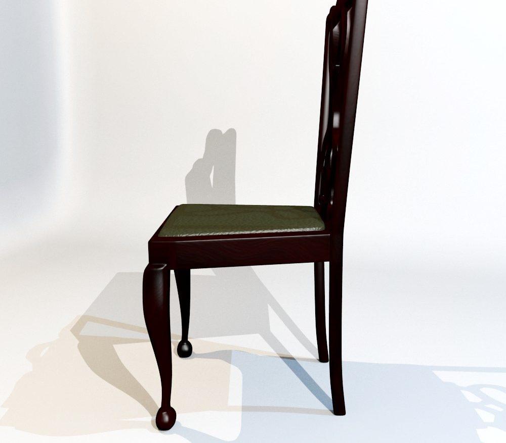 3D Model Dining Chair set ( 80.99KB jpg by forestdino )