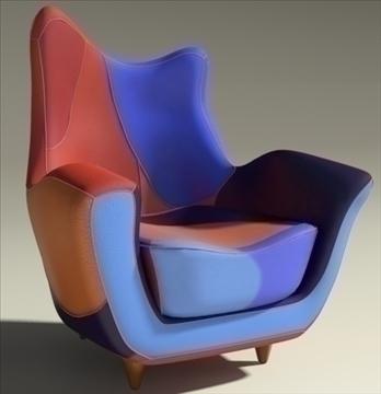 alessandra armchair 3d model max obj 90868