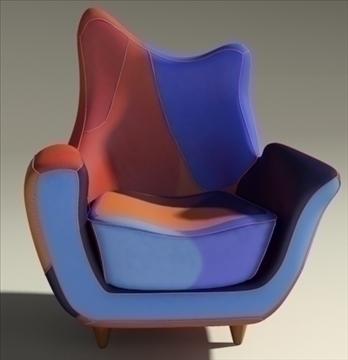 alessandra armchair 3d model max obj 90870