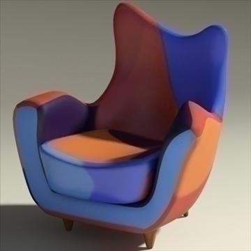 alessandra armchair 3d model max obj 90871