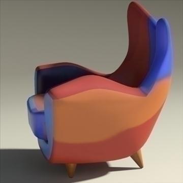 alessandra armchair 3d model max obj 90873