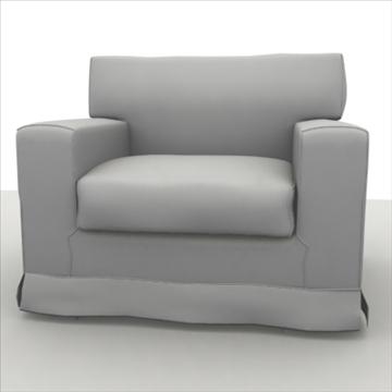 amerikāņu krēsls 3d modelis max 80186