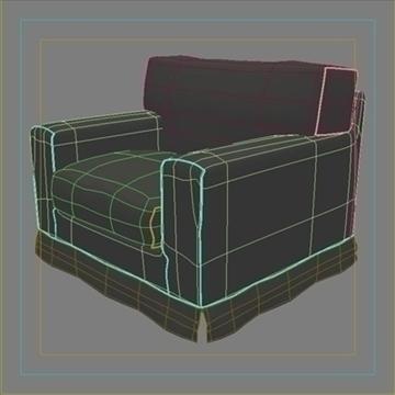 amerikāņu krēsls 3d modelis max 80187