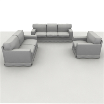 america_sofa_composition Model 3d 3ds max fbx obj 80203