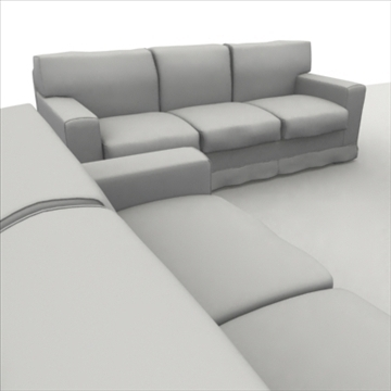 america_sofa_composition 3d model 3ds max fbx obj 80204
