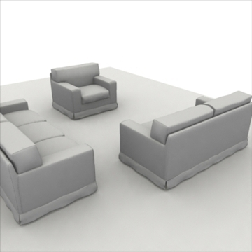 america_sofa_composition 3d model 3ds max fbx obj 80205