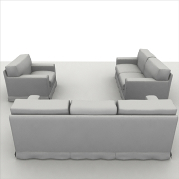 america_sofa_composition 3d model 3ds max fbx obj 80207