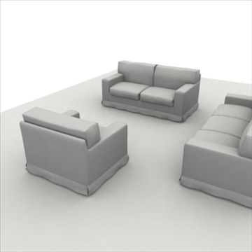 america_sofa_composition 3d model 3ds max fbx obj 80208