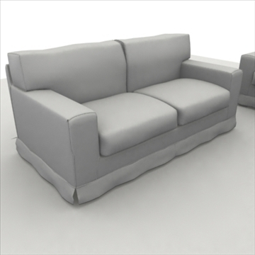 america_sofa_composition 3d model 3ds max fbx obj 80209