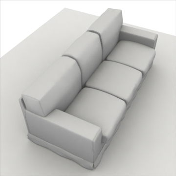 america_sofa_three_pillow 3d model max 80199